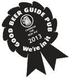 We're in the 2013 Good Beer Guide