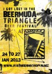 Limited edition Just Beer BeerMuda Triangle Beer Festival Tshirts available now!