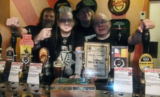 Just Beer micropub - Pub of the Year 2013