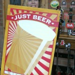 Just Beer Micropub sign