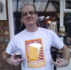 Buy your Just Beer T shirt now!
