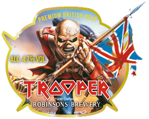 The Trooper Iron Maiden Beer